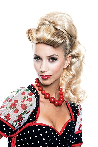 UHC Sexy Lexi Ponytail Wig French Kiss Halloween Adult Costume Accessory (Blonde) -