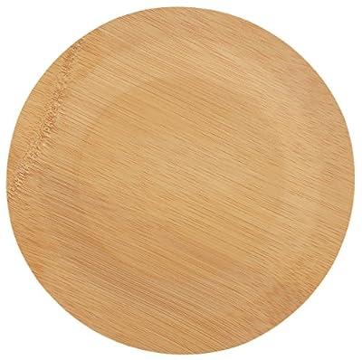 Round Bamboo Plates Parent