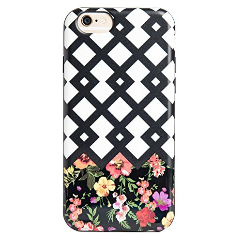 Agent18 iPhone 6 / iPhone 6S Case, - Lattice / Flowers - - Shield Agent Shock 18