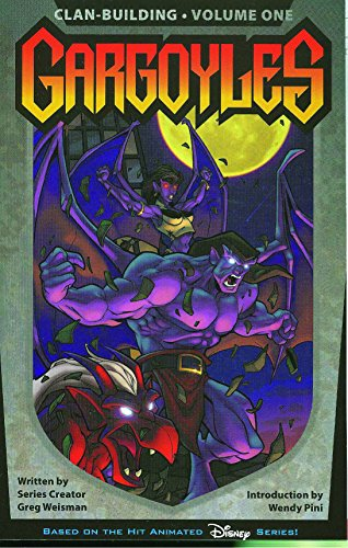 Book cover from Gargoyles, 1: Clan-building by Greg Weisman