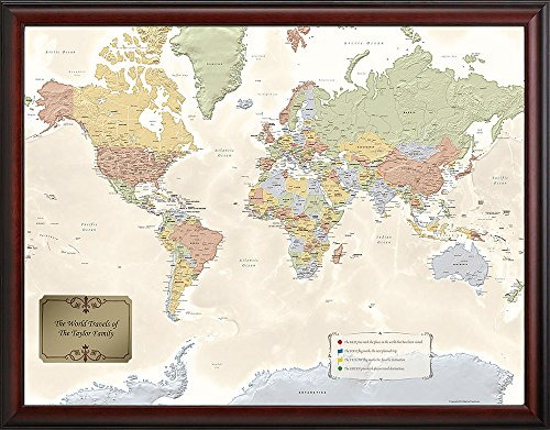 Map Your Travels MYTWM Personalized product image