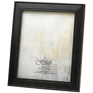 Fetco Home Décor F464680 Longwood Frame, Rustic Black