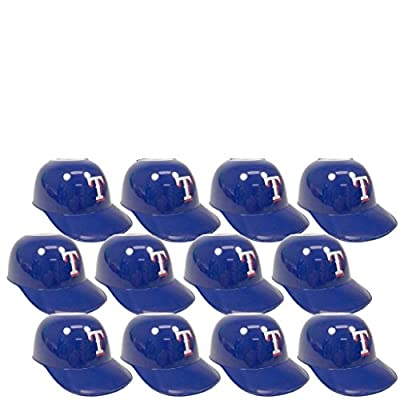 MLB Mini Batting Helmet Ice Cream Sundae/ Snack Bowls-12 Pack