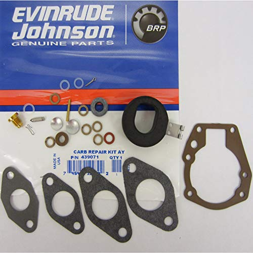 OEM Evinrude Johnson BRP Outboard Carburetor Kit - Catalog Johnson Parts Motor