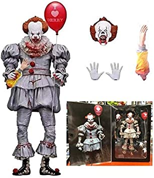 Amazon.com: WOIA 2 Tipo Stephen King s It Pennywise payaso ...