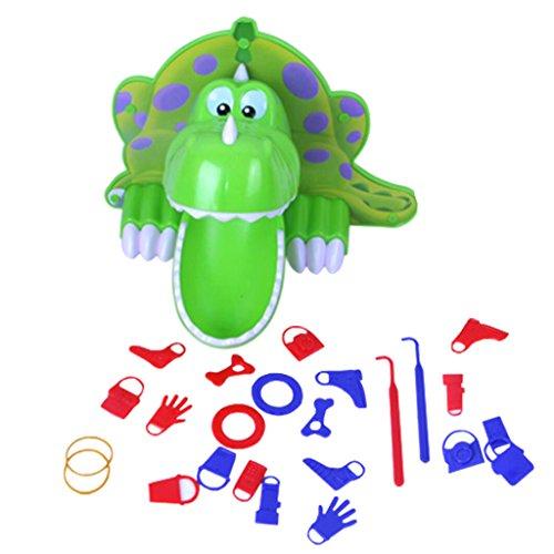 Kesoto ゲームセット 空腹の恐竜 ボードゲーム パーティー ゲーム 子ども おもちゃ
