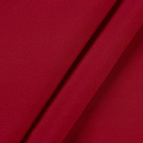 Maniche Camicette V shirt donna Elegante Lunghe Camicie Rosso Felpa T Scollo Pullover Abcone Tops Solido Casual A Autunno BOXzz