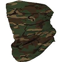LOPELY Multifunctional Headwear Face Mask Headband Neck Gaiter,Scarf Helmet Liner Women Mens for Outdoor Activities…