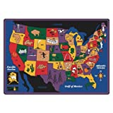 Geography Discover America Kids Rug Rug Size: 8'4'' x 11'8''