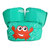 Stearns Puddle Jumper Basic Life Jacket,  Aqua Crab, 30-50 lbs