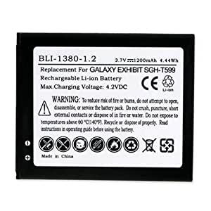 Samsung Galaxy Ace 3 Cell Phone Battery (Li-Ion 3.7V 1200 mAh) - Replacement For Samsung EB425161LA Cellphone Battery