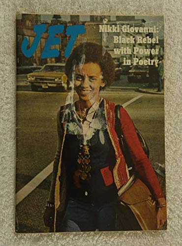 Nikki Giovanni – Black Rebel with Power in Poetry - Jet Magazine - May 25, 1972 - Virginia Tech