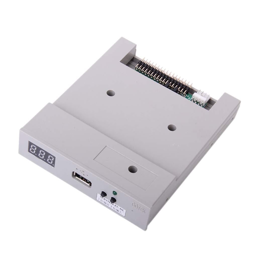 Sharplace 1 Pieza Unidad de Disquete USB con Tornillos yjumpers Accesorio Recambio