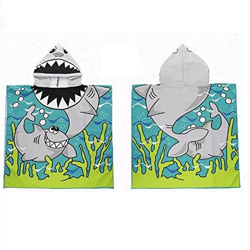 Surfer Dudes 3 Piece Set - Hank Toy, Shark Beach Towel, Shark Tooth Necklace by Surfer Dudes (Image #5)