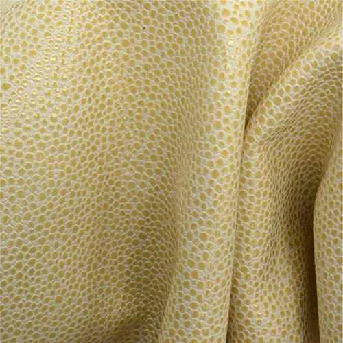 The Leather Guy - Daffodil Dots Leather Cow Hide 12