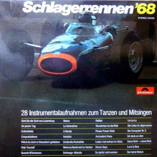 Price comparison product image Pete Danby - Schlagerrennen '68 - Ein Potpourri Mit 28 Instrumentalaufnahmen Zum Tanzen Und Mitsingen - Polydor - 249 258