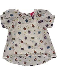 Toddler/Little Girls 2-Piece Cami Blouse
