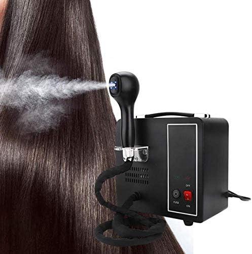 1yess Haar-Dampfer Multifunktionale Nano Dampfpistole Haarfärbung Färben Dampfer Luftbefeuchter Friseurausruestung Geeignet for Haus und Kosmetikstudios