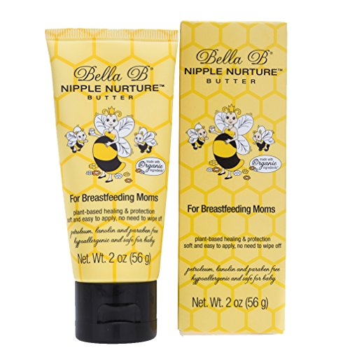 Bella B Nipple Nurture Butter, 2 oz (The Best Nipple Cream For Breastfeeding)