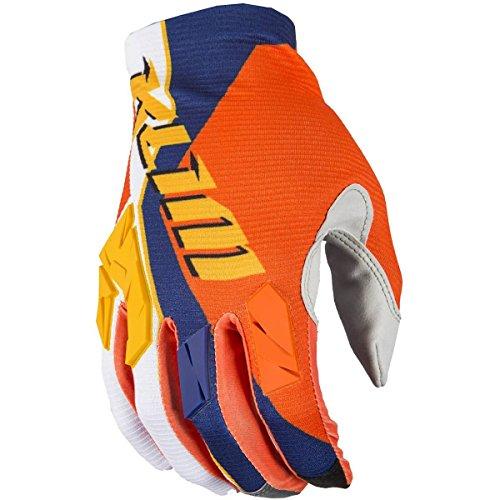 (Klim XC Lite Men's Off-Road Motorcycle Gloves - Orange/X-Large)