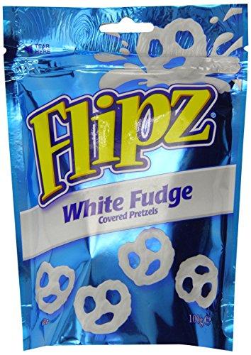 DEMET'S Flip White Fudge Covered Pretzels Bag 100 g (Pack of (Fudge Pretzel)