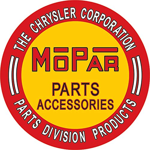 Desperate Enterprises The Chrysler Corporation Mopar Parts Accessories Tin Sign, 11.75