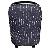 Storeofbaby Carseat Canopy for Boys and Girls Stretchy Multi Purpose Nursing Scarf