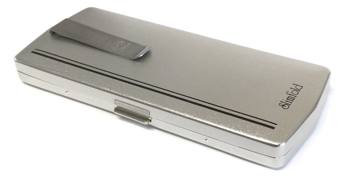 955064bd5b6 Amazon.com  Kanda Slimfold Model 3 Gunmetal Strength 2.00 Folding Reading  Glasses  Health   Personal Care
