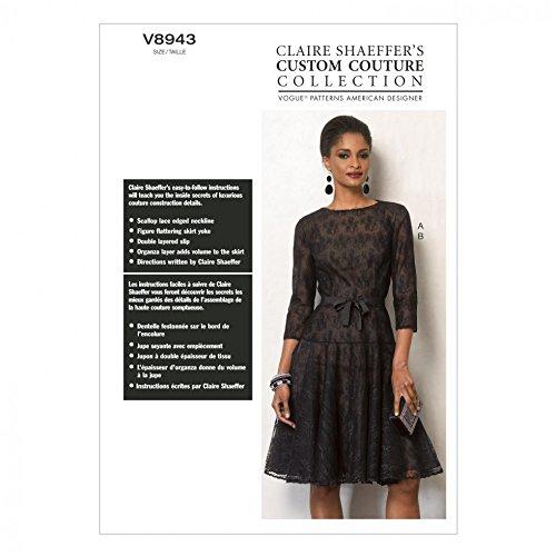 Vogue Ladies Sewing Pattern 8943 Evening Dress & Slip