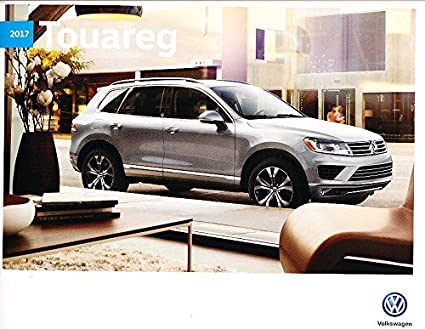 Amazon Com 2017 Vw Volkswagen Touareg 16 Page Original Car Sales
