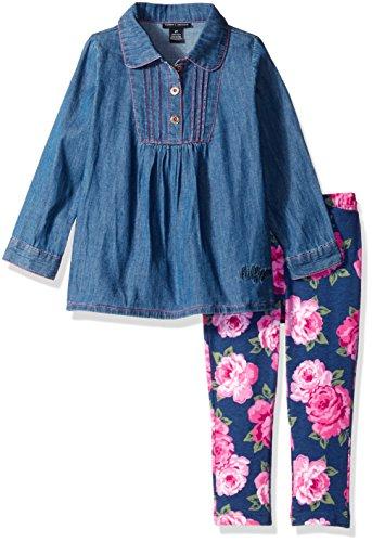 Tommy Hilfiger Girls Flower Leggings