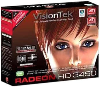 Radeon HD3450 512MB Pcie