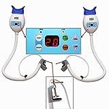 BoNew 2PCSTeeth Whitening Accelerator Bleaching System LED Lamp Blue Light USA WAREHOUSE
