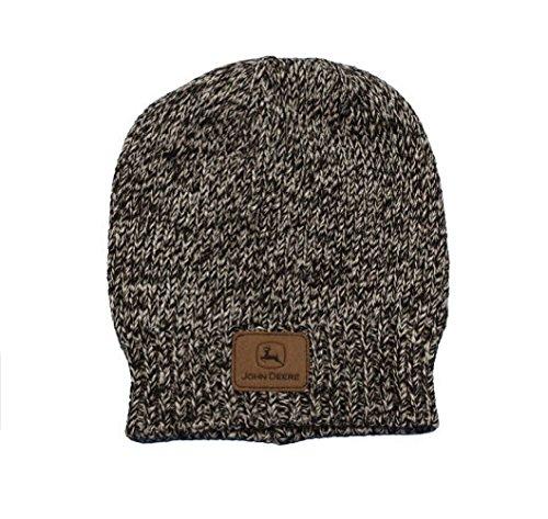 John Deere Knit Stocking Cap (Black Heather) - LP67779