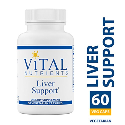 Vital Nutrients - Liver Support - Herbal Combination to Support Healthy Liver Function - 60 Vegetarian Capsules per Bottle ()