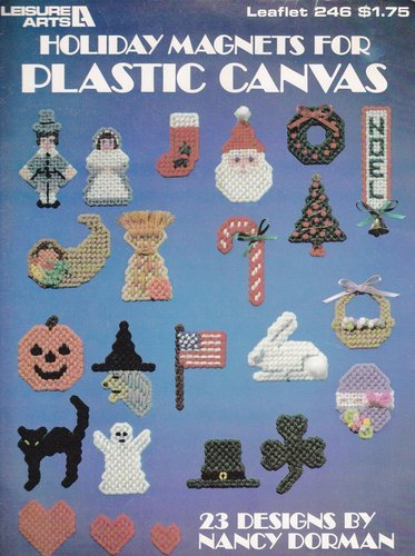 - Holiday magnets for plastics canvas