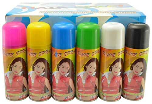 Temporary Hair Color Spray 3 oz - Case (24 Cans)