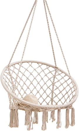 Hanging Chairs Outdoor Egg Chair Swinging Chair Chair Hammock Indoor Hammock Bedroom Decor For Teen Girls Teen Girl Room Decor Living Room Chairs Chair For Bedroom Amazon Co Uk Kitchen Home
