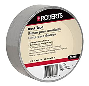 1-7/8 in. Wide Duct Tape, Indoor Silver General Purpose, 60 yards