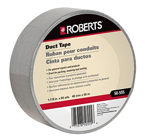 UPC 075378505556, 1-7/8 in. Wide Duct Tape, Indoor Silver General Purpose, 60 yards