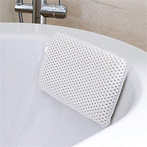 クリーンにバス浴槽、ジャグジー、簡単にほとんどのサイズに適し8つのサクションカップ付きソフト浴室枕サポートバースクッション