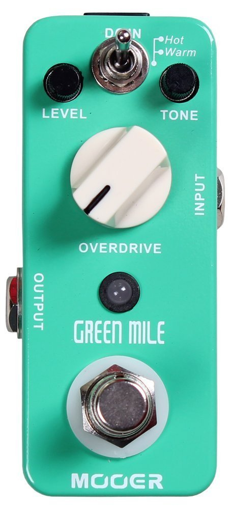 Mooer Green Mile, overdrive micro pedal by MOOER