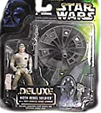 Star Wars Action Figur 69724 - DELUXE Hoth Rebel Soldier mit Anti-Vehicle Laser Cannon