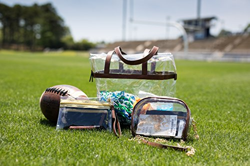 Stadium Privacy for Clear Purse Pouch Bag MB and for Cross Sporting Concerts Events Body Approved Greene PwXT5xqI