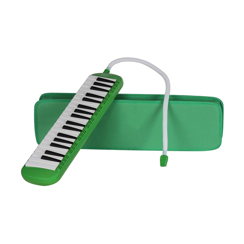 heaven2017 37 Key Melodica Kids Mouthpiece Tube Piano Keyboard Instrument Green by heaven2017 (Image #8)