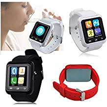 iTontek U8 U80 Plus Bluetooth Smartwatch Sportswatch Pedometer for Smartphones IOS Apple iPhone Android Samsung S3/S4/S5/S6 Note 2/Note 3/Note 4 HTC Sony [Upgraded of U8]