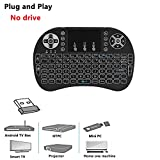 Mini Wireless Keyboard with Backlit,ProCIV 2.4G Mini Keyboard USB Interface Adapter Air Touch Backlit LED for Google Android Devices X-BOX Smart TV, TV Box, HTPC, PC, Notebook Pad and Other Games
