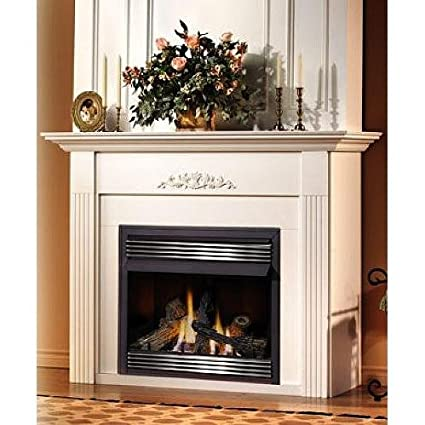 Zero clearance fireplace mantel height