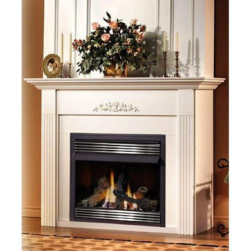 Gas Zero Fireplaces Clearance (Napoleon GVF36 30,000 BTU Vent Free Zero Clearance Gas Fireplace, Natural Gas)