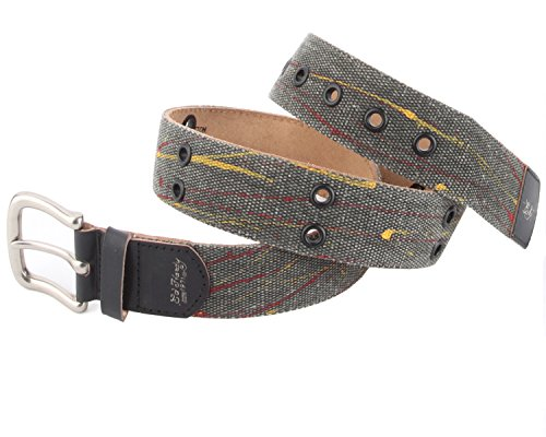Ed Hardy EH3335 Womens Flutter Canvas Belt - Black/Small (Ed Hardy Fashion Belt)
